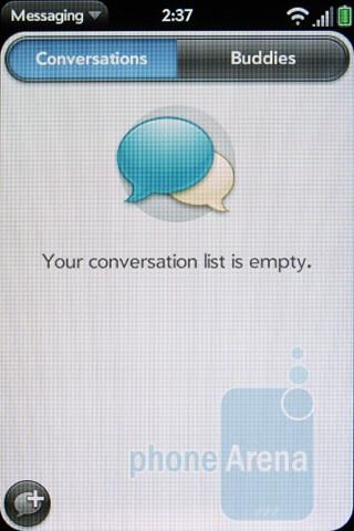 Messaging - Verizon Pre 2 Review