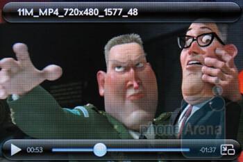 Video playback - Music player - Verizon Pre 2 Review