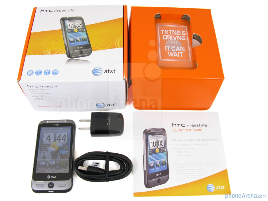 HTC Freestyle Review