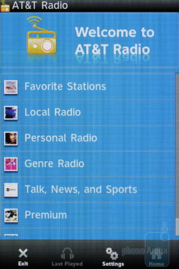 AT&T Radio app - HTC Freestyle Review