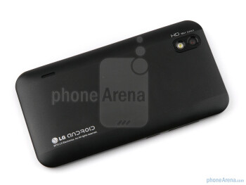 Гръб - LG Optimus Black Превю