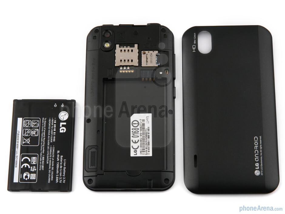 Back - LG Optimus Black Preview