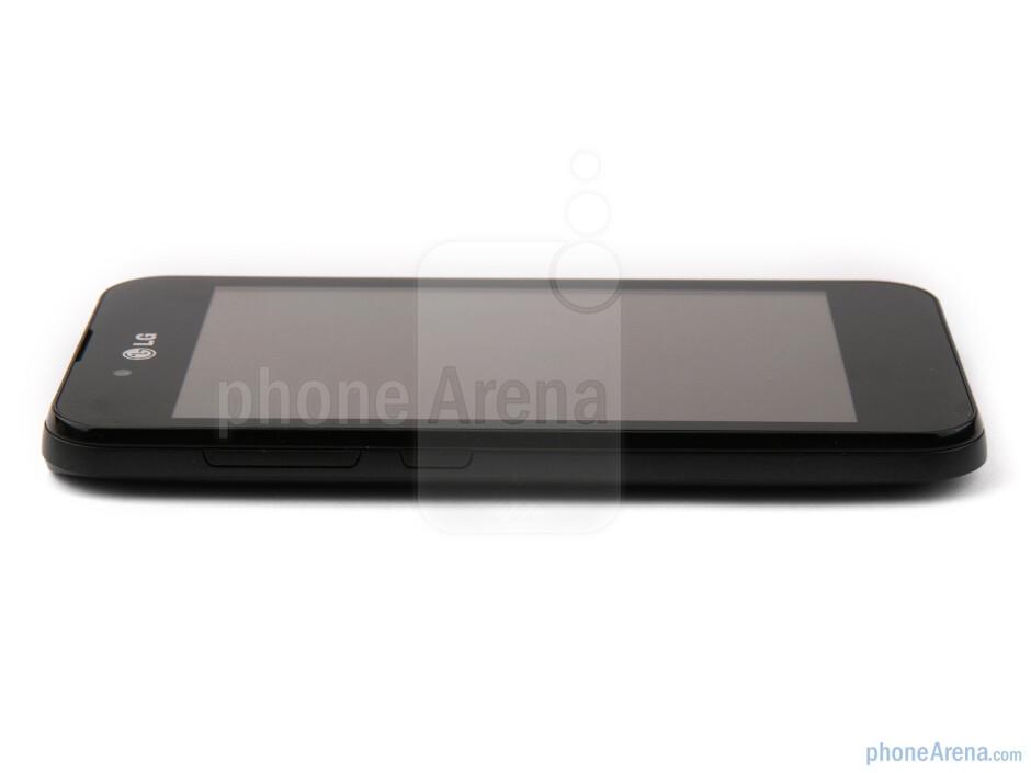The sides of the LG Optimus Black - LG Optimus Black Preview