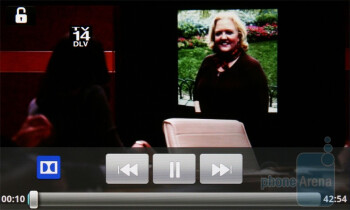 Video playback - LG Optimus Black Preview