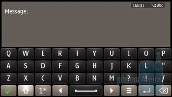 Full QWERTY keyboard - Nokia E7 Review