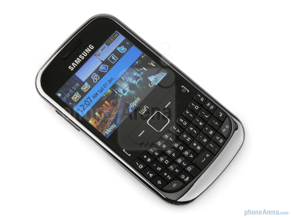 Samsung Ch@t 335 Preview