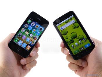 Motorola ATRIX 4G vs Apple iPhone 4