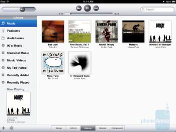 Cover Flow mode is missing in the Apple iPad - Motorola XOOM vs Apple iPad