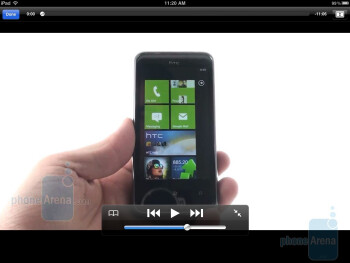 The YouTube app in the Apple iPad - Motorola XOOM vs Apple iPad