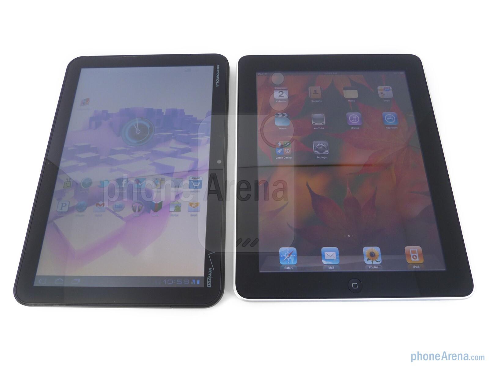 Motorola XOOM vs Apple iPad