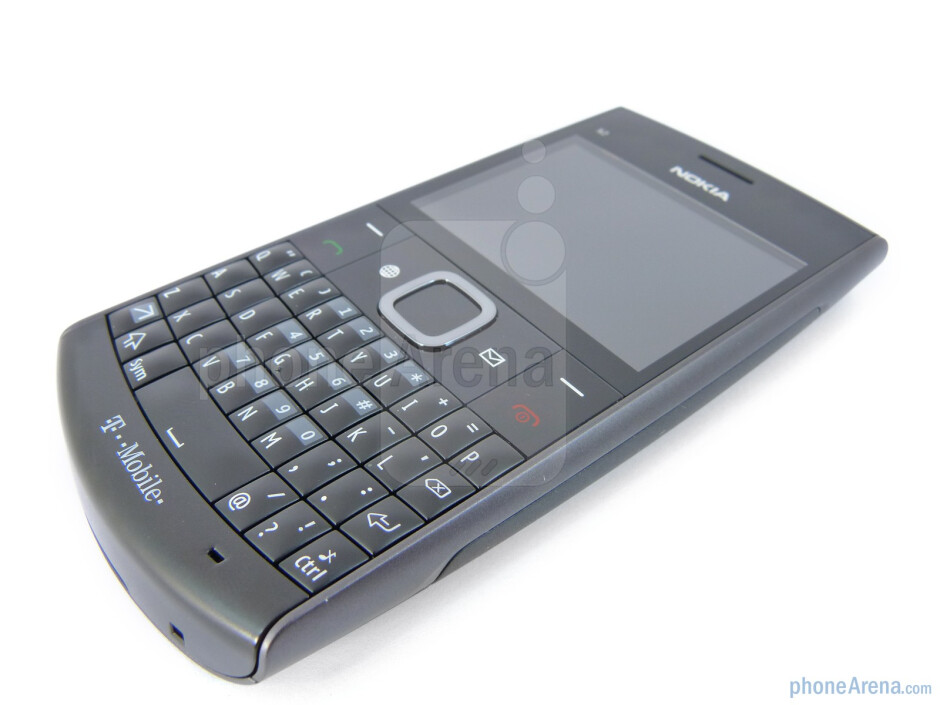 The 4-row portrait style keyboard is probably the centerpiece of the entire device - Nokia X2 for T-Mobile Review