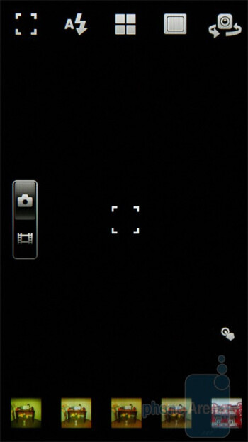 Camera interface - Sony Ericsson Xperia neo Preview