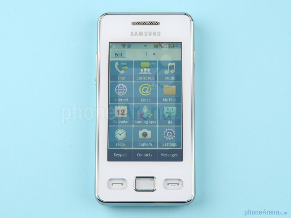 The Samsung Star II comes with a 3.0-inch touchscreen - Samsung Star II Review