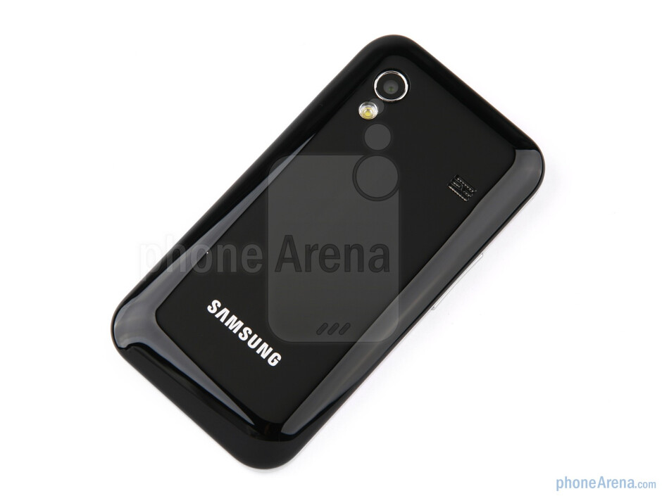 The back side of the phone - Samsung Galaxy Ace Review
