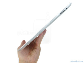 Besides its razor thin profile, the overall industrial design of the Apple iPad 2 remains the same - Apple iPad 2 Review