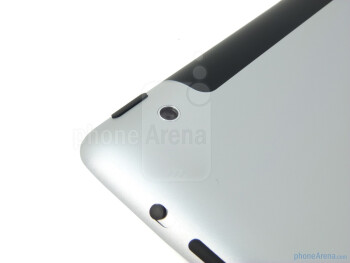 The top edge of the Apple iPad 2 - Apple iPad 2 Review