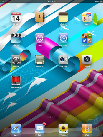 Apple iPad 2 - Notifications systems - HP TouchPad vs Apple iPad 2