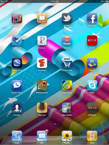 iOS on the Apple iPad 2 - HP TouchPad vs Apple iPad 2
