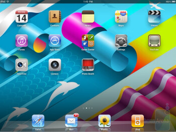Apple iPad 2 - Interfaces - T-Mobile G-Slate vs BlackBerry PlayBook vs Apple iPad 2 vs Motorola XOOM