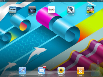 Apple iPad 2 - Notifications systems - T-Mobile G-Slate vs BlackBerry PlayBook vs Apple iPad 2 vs Motorola XOOM