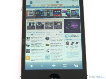 Apple iPhone 4 - Displays and viewing angles of the Apple iPhone 4, the Nokia E7 and the LG Optimus 2X - Nokia E7 vs LG Optimus 2X vs Apple iPhone 4