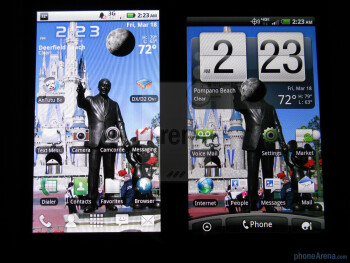 The Motorola DROID X (L) and the HTC ThunderBolt (R) - HTC ThunderBolt Review