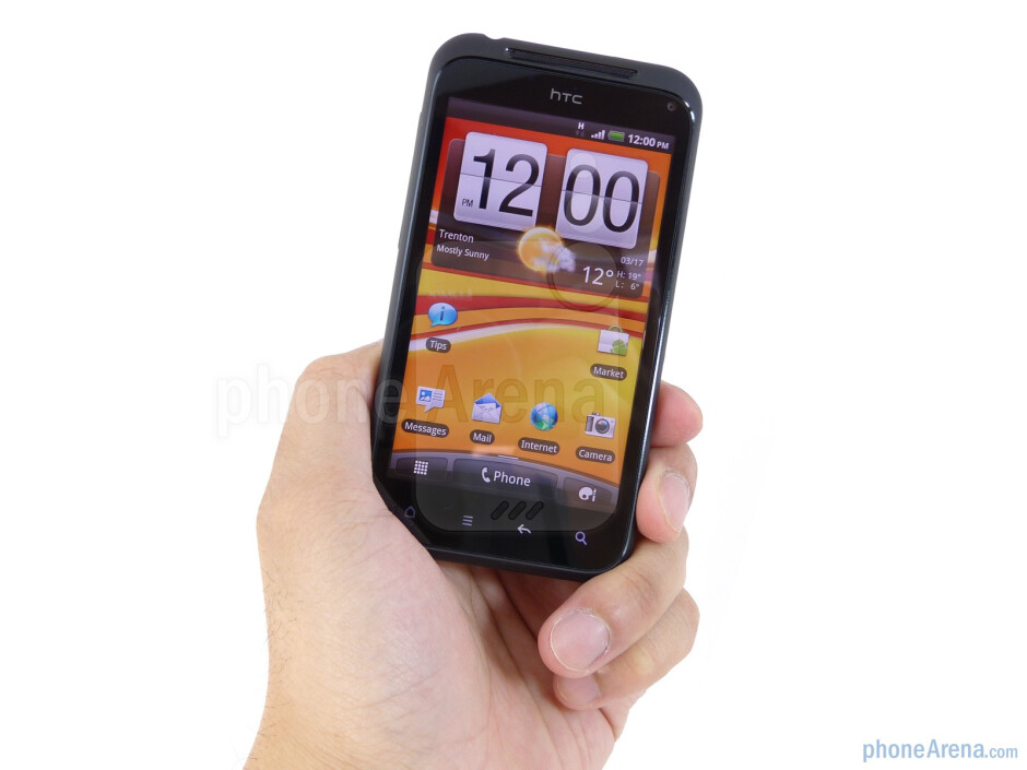 The HTC Incredible S embodies minimalistic industrial design - HTC Incredible S Review