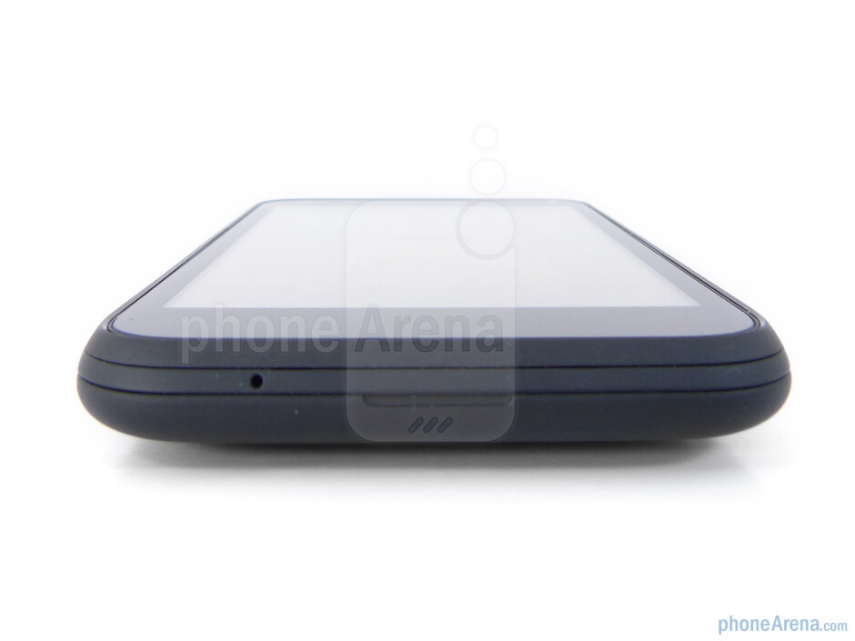 Bottom - The sides of the HTC Incredible S - HTC Incredible S Review
