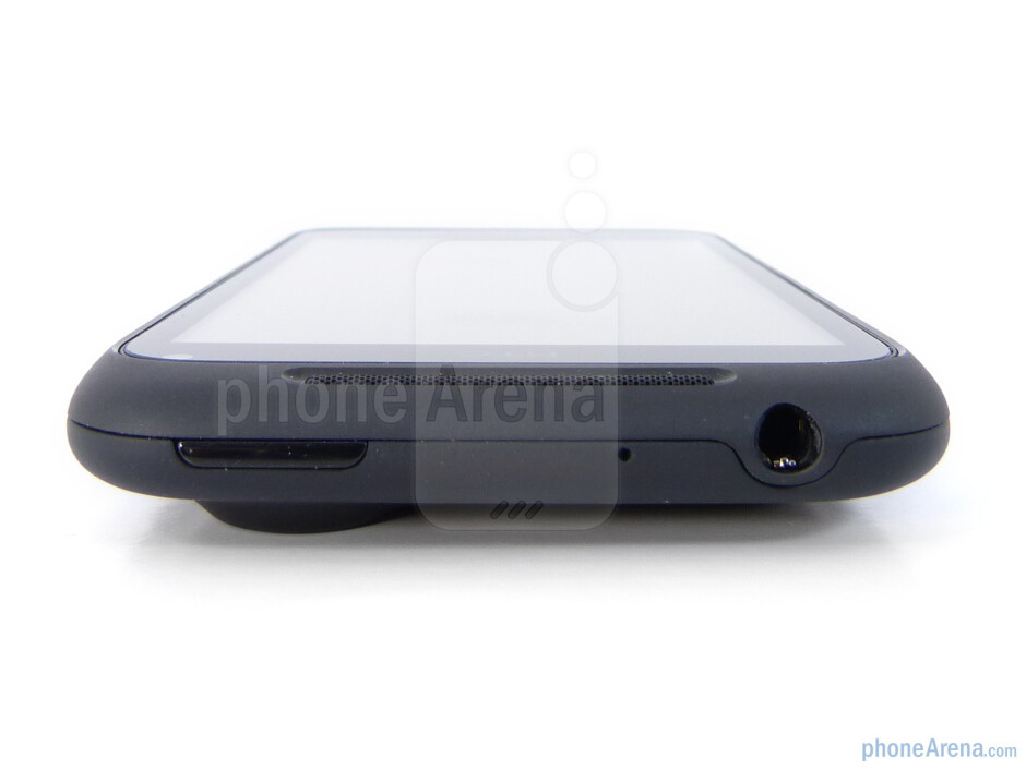 Top - The sides of the HTC Incredible S - HTC Incredible S Review