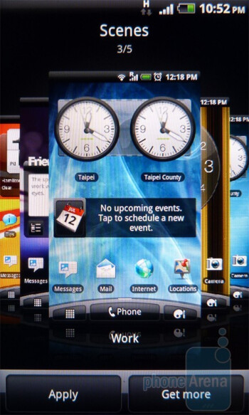 Personalizing the homescreen - HTC Incredible S Review