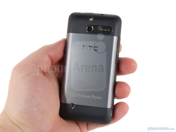 The HTC Arrive has company's typical solid build quality - HTC Arrive Review