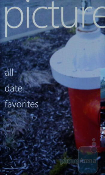 Picture app - HTC Arrive Review