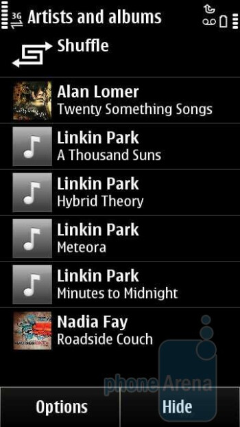 The Symbian^3 music player - Nokia Astound Review