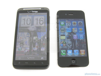 HTC ThunderBolt vs Apple iPhone 4