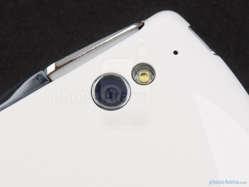 The 5MP camera with LED flash - Sony Ericsson Xperia PLAY Review