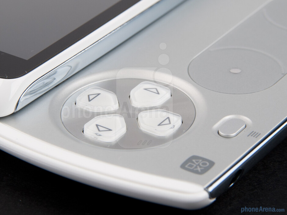 In the middle of the gamepad there are  two circular analog pads - Sony Ericsson Xperia PLAY Review