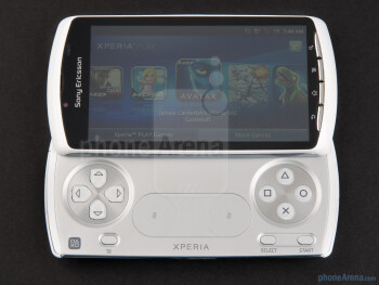 The phone has a 4-inch LCD display - Sony Ericsson Xperia PLAY Review