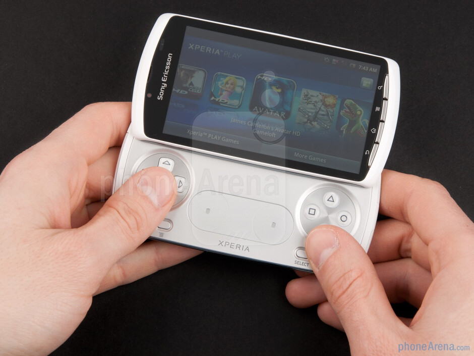 The Sony Ericsson Xperia Play fits comfortably in the hand - Sony Ericsson Xperia PLAY Review