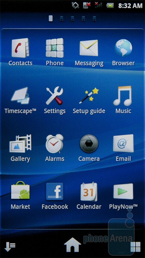 The new version of Sony Ericsson's UX Android interface - Sony Ericsson Xperia PLAY Review