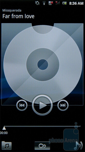 The music player - Sony Ericsson Xperia PLAY Review