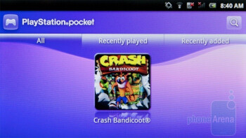 The PlayStation Pocket app - Sony Ericsson Xperia PLAY Review