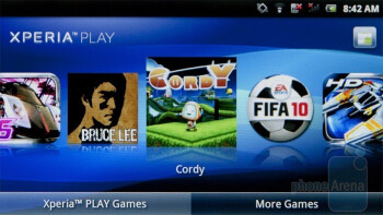 The Xperia Play app - Sony Ericsson Xperia PLAY Review