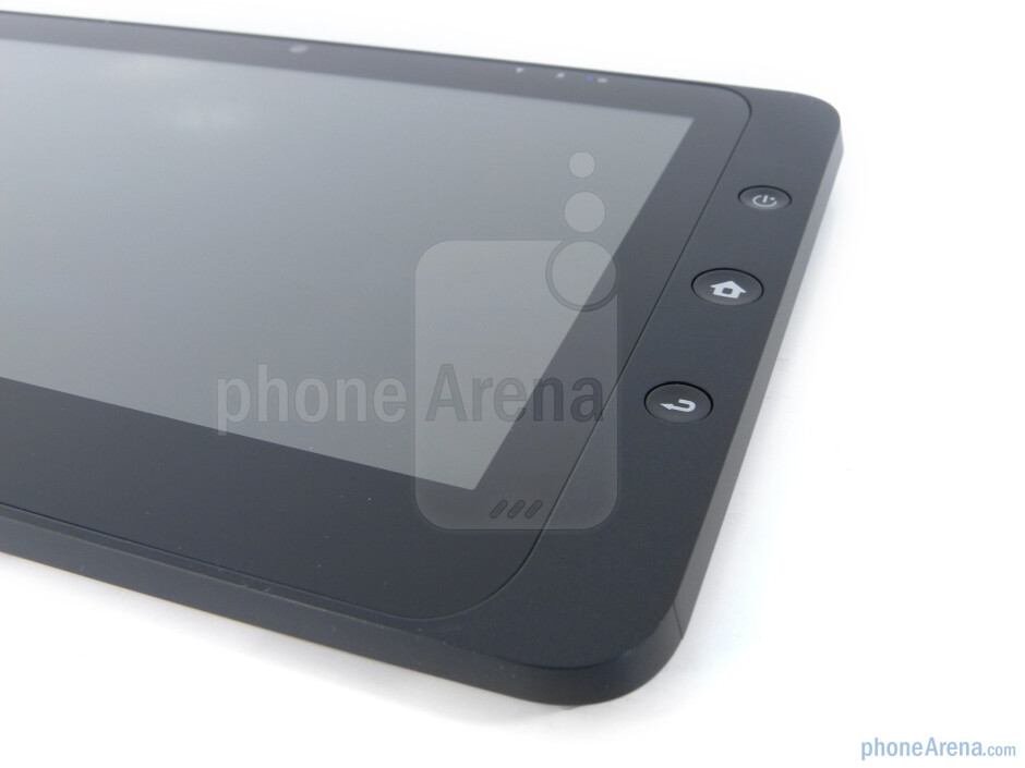 The Android physical buttons - ViewSonic ViewPad 10 Review