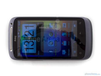 The screen of the HTC Desire S measures in at 3.7 inches - HTC Desire S Review