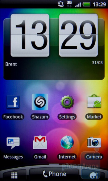 The HTC Desire S showcases the latest version of HTC Sense - HTC Desire S Review