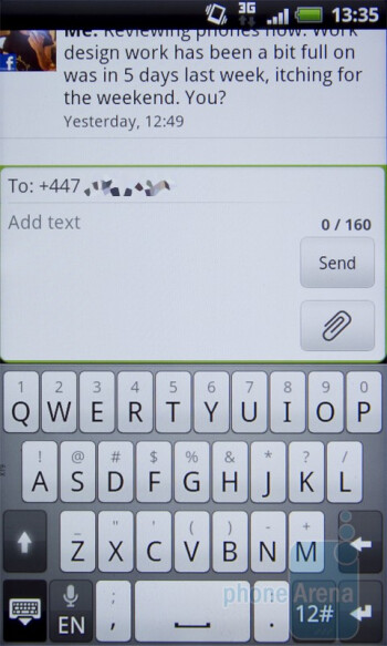 Messaging on the HTC Desire S - HTC Desire S Review