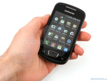 "The Samsung GALAXY mini comes with a 3.14"" screen - Samsung GALAXY mini Review"
