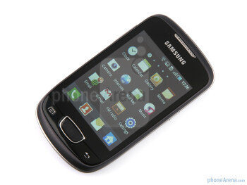 The sides of the Samsung GALAXY mini - Samsung GALAXY mini Review