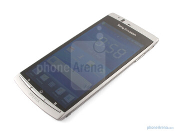 "The ""Misty Silver"" version of Sony Ericsson Xperia arc - Sony Ericsson Xperia arc Review"