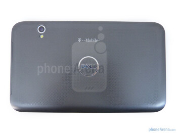 The back hosts the 5-megapixel auto-focus camera - Dell Streak 7 Review